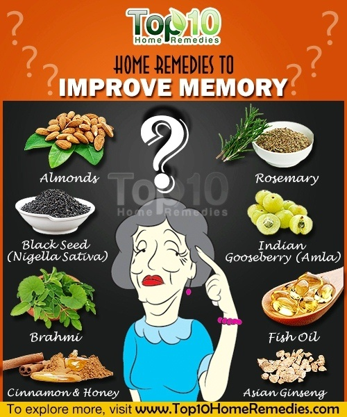 Home Remedies To Improve Memory Top 10 Home Remedies