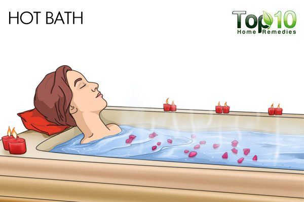 hot bath for anxiety and panic attacks