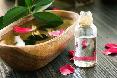 rose-water-bottle-opt - 10 Natural Ways To Tighten Sagging Skin - How To Tips