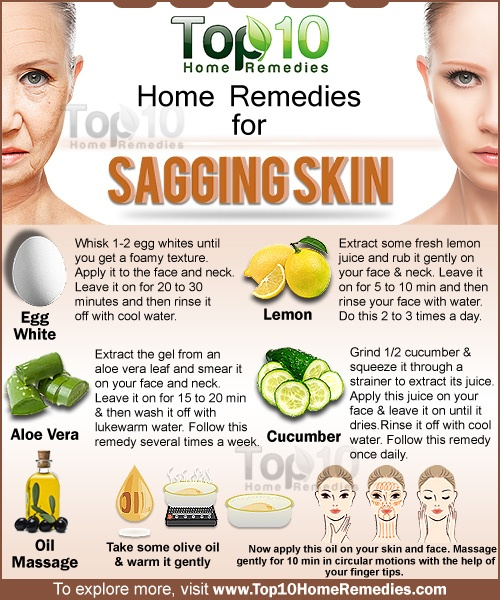 Home Remedies for Sagging Skin | Top 10 Home Remedies