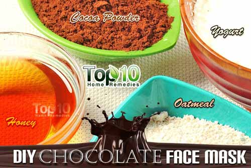 DIY chocolate mask ingredients