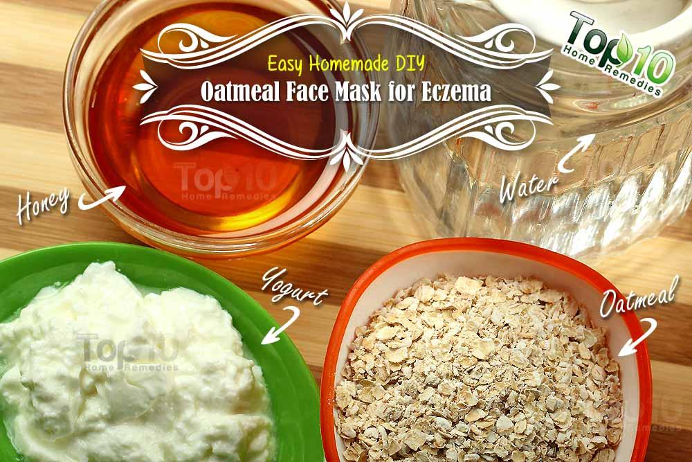 Easy Homemade DIY Oatmeal Mask for