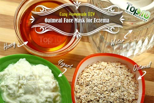 DIY oatmeal mask for eczema ingredients