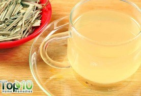 DIY Homemade Spiced Lemongrass Tea