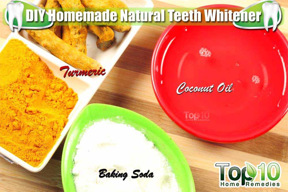 How To Whiten Your Teeth Naturally At Home With Turmeric Best