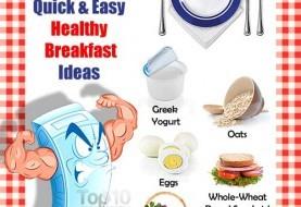 Quick & Easy Healthy Breakfast Ideas