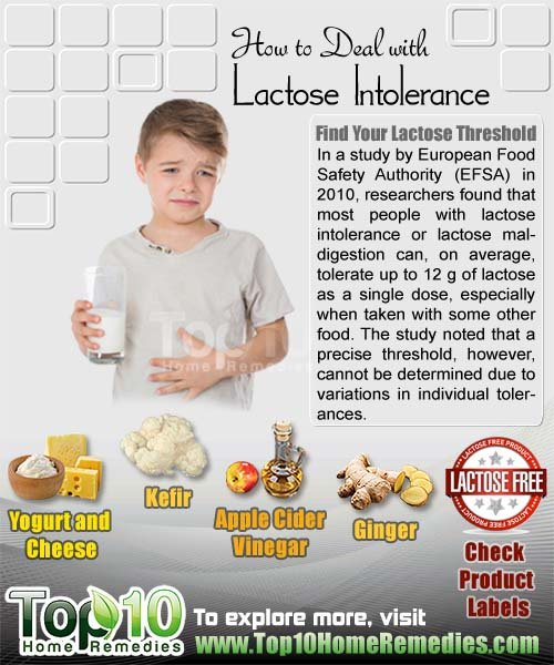 how to deal with lactose intolerance