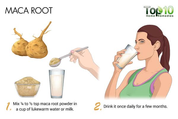 maca root to balance hormones naturally