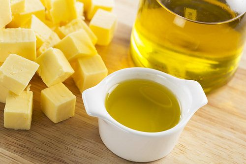 olive oil for butter