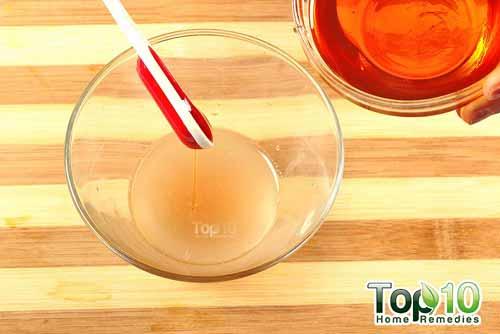 DIY onion for air loss step3