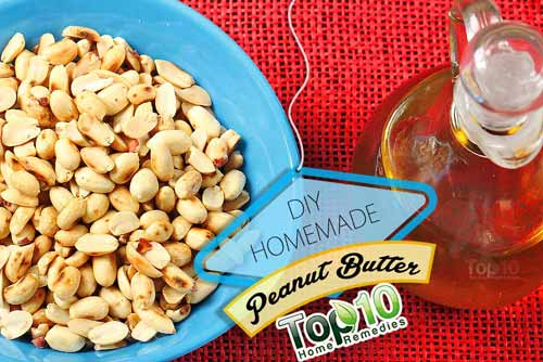 DIY peanut butter ingredients