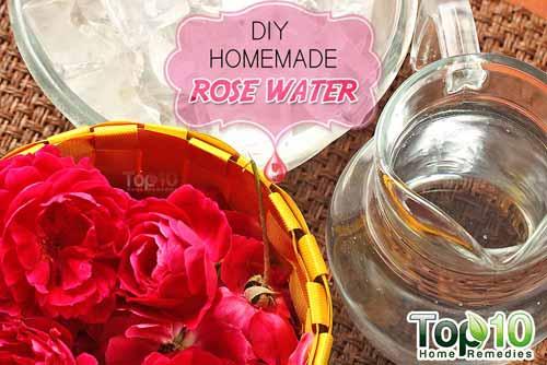 DIY rose water ingredients