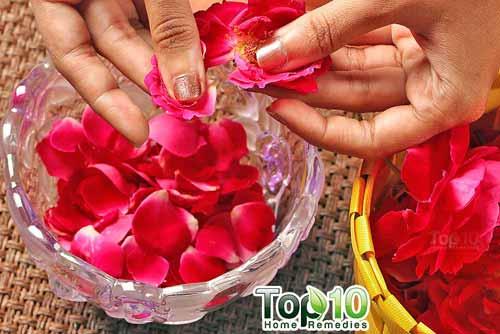 DIY rose water step1