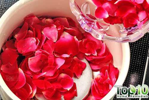 DIY rose water step2
