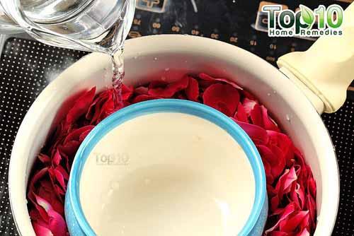 DIY rose water step4