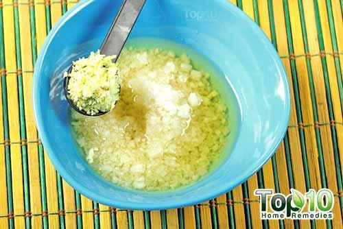 DIY sea salt citrus scrub step4