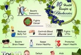 Top 10 Health Benefits of Blueberries