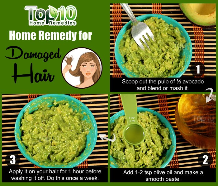 Home Remedy For Dry Hair