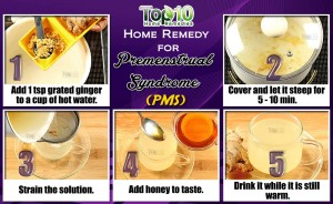 home remedy for premenstrual syndrome