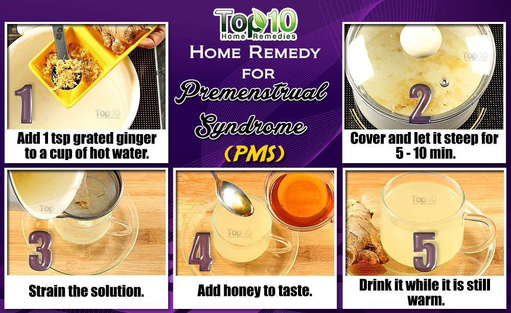 Home Remedies for Premenstrual Syndrome (PMS) | Top 10