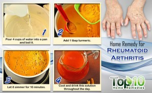 home remedy for rheumatoid arthritis