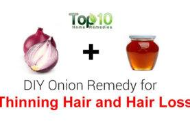 DIY Homemade Onion Juice and Honey Hair Loss Treatment