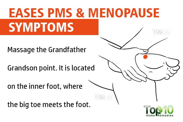 grandfather grandson point to ease PMS