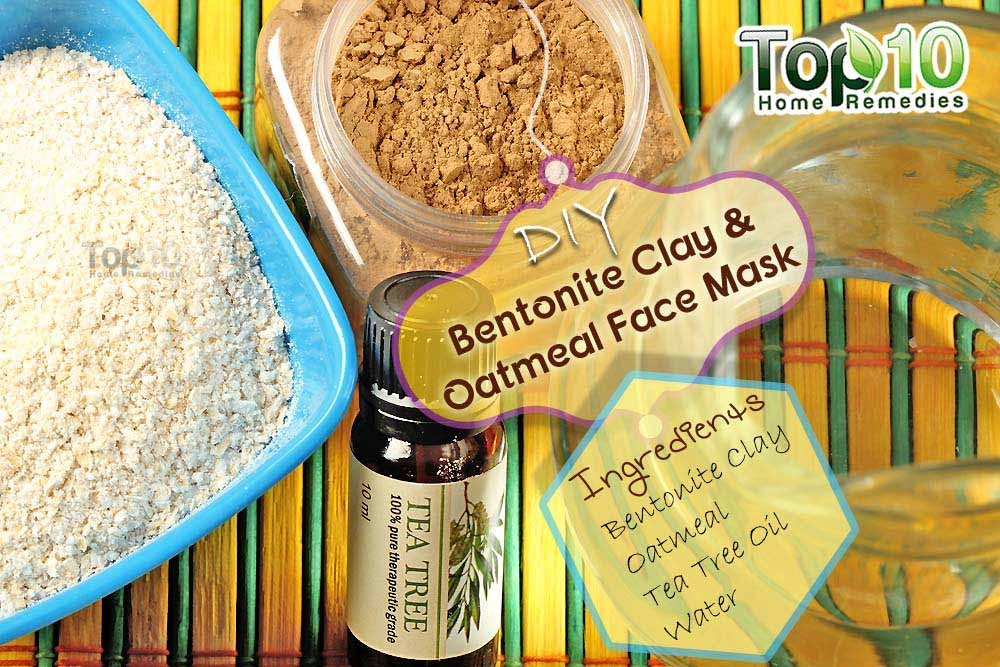 how to use bentonite clay for acne