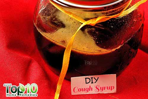 DIY cough syrup ginger