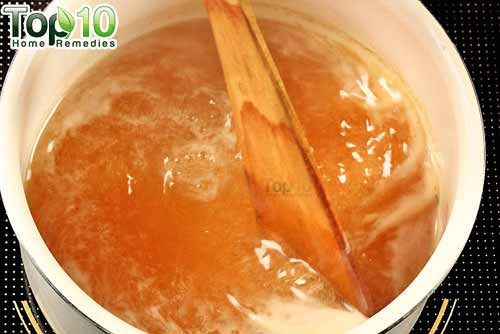 DIY cough syrup ginger step 11