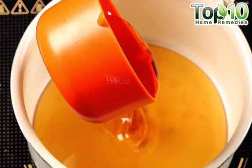 DIY cough syrup ginger step 8