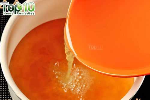 DIY cough syrup ginger step 9