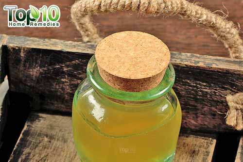 DIY cough syrup honey and glycerin
