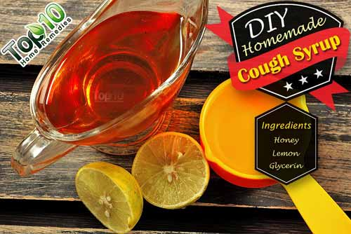 DIY cough syrup honey ingredients