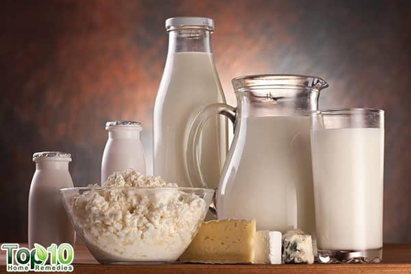 dairy products to lower uric acid in body