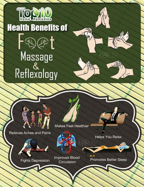 benefits of foot masssage and reflexology
