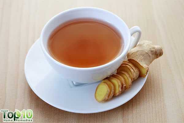 ginger to control uric acid in body