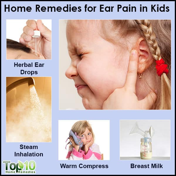 home remedies for ear pain in kids