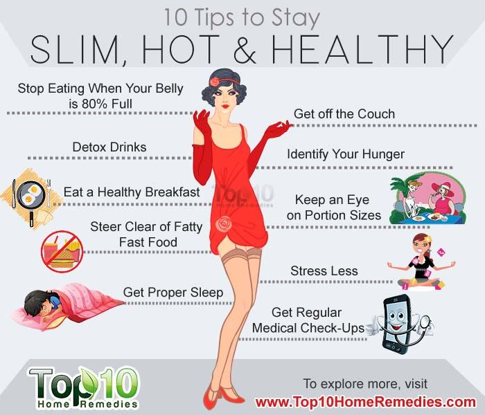 10 Simple Tips To Stay Slim, Hot and Healthy | Top 10 Home ...