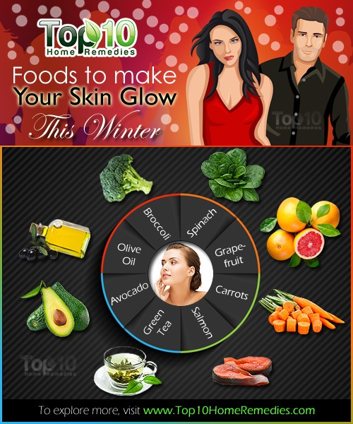 Foods That Make Skin Glow And Fair