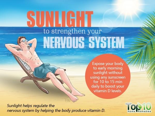 sunlight for nervous system