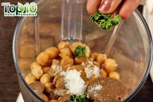 DIY hummus step 9