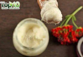 DIY Homemade Coconut Oil and Aloe Vera Gel Skin Moisturizer