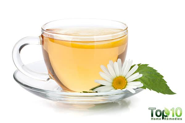 chamomile tea to relieve gas pain in toddlers