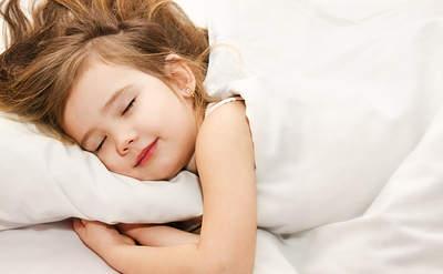 child sound sleep