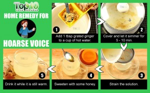 home remedy for hoarse voice