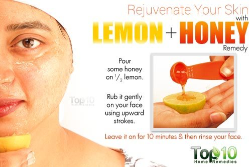 Lemon and Honey Remedy for Skin Rejuvenation