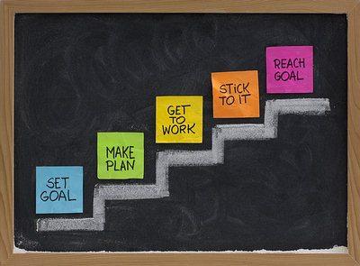 set a realistic goal