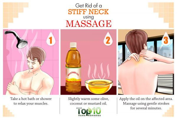 massage for stiff neck