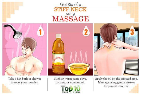 massage for stiff neck